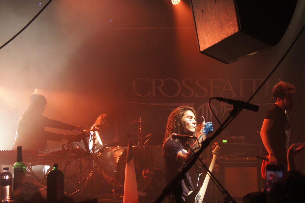 CrossFaith Live In Paris Trabendo 14/03/2016 by mopiou