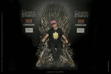 Me on the Iron Throne
