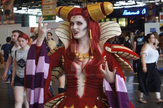 Carmilla Vampire Hunter D - Cosplay Japan Expo 18