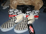 Vans and FAMOUS brand new ^.^ by mopiou