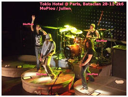 Tokio Hotel_Bataclan_SKY by mopiou