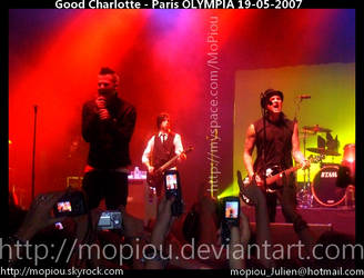 Good Charlotte - Olympia Paris by mopiou