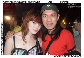 UFFIE and me . Julien ID by mopiou