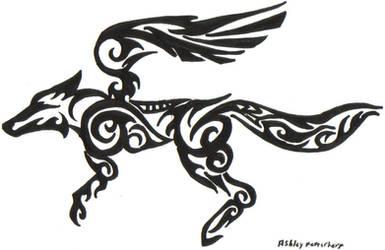 Tribal Starfox Logo