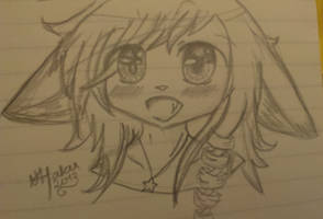 Doodles in class again c: