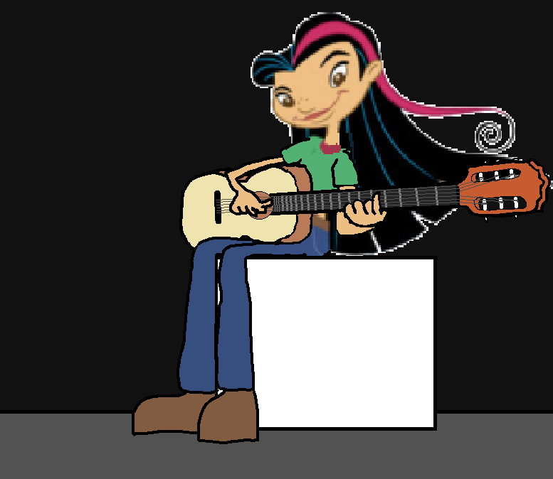 Juniper Lee Playing The Classical Guitar by joebarnesandbanjo