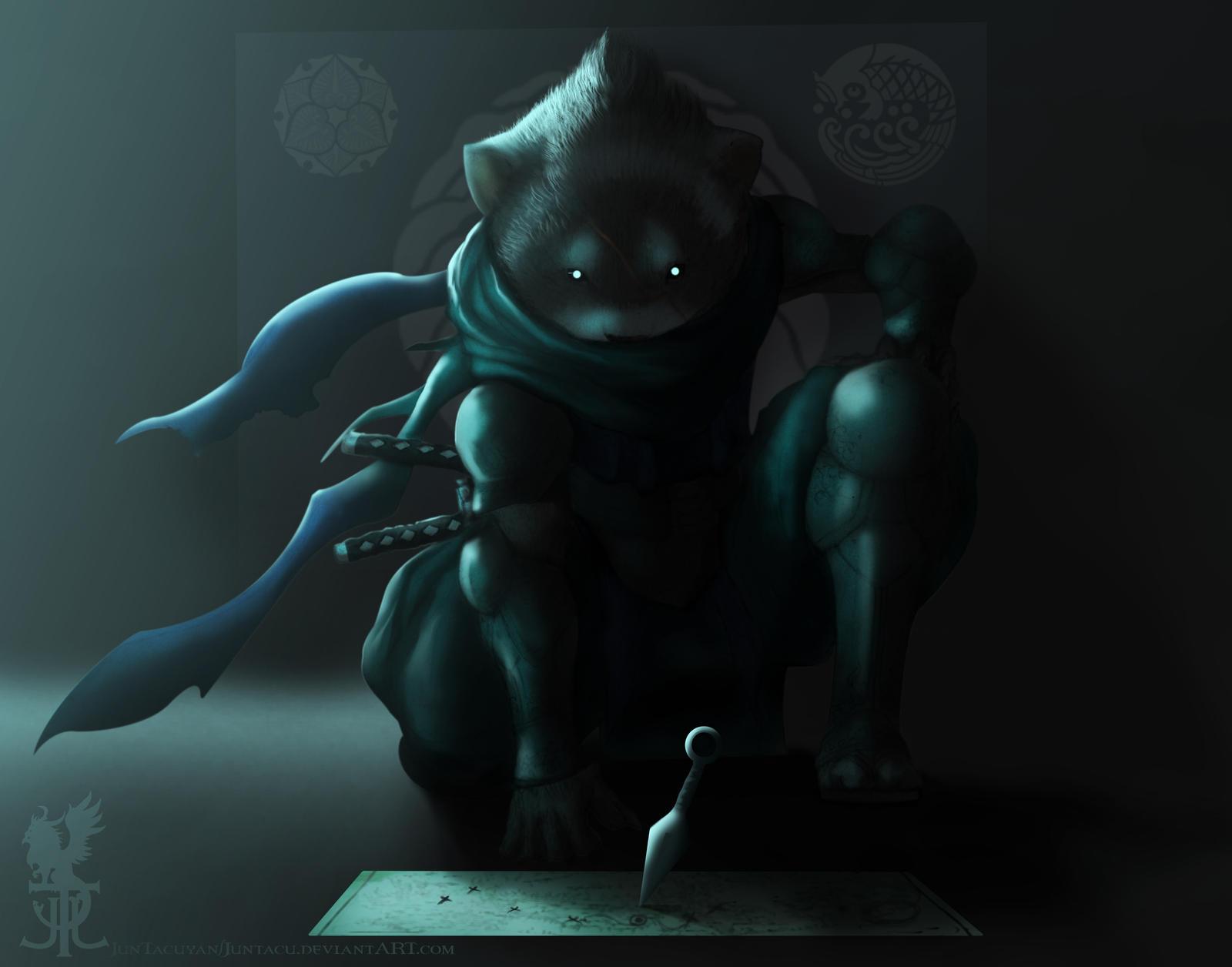 Ferret Ninja by Juntacu