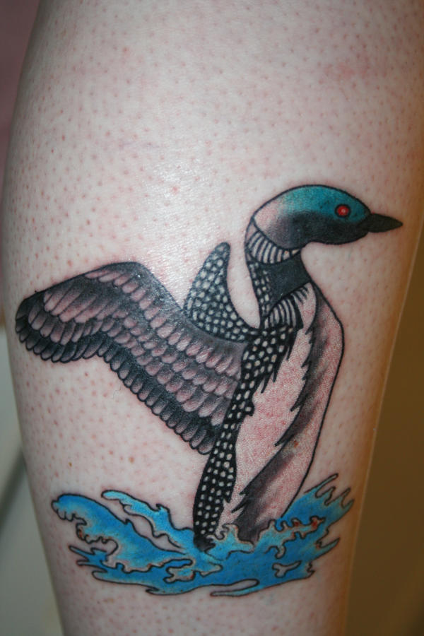 Loon Tattoo by ForcedReaction