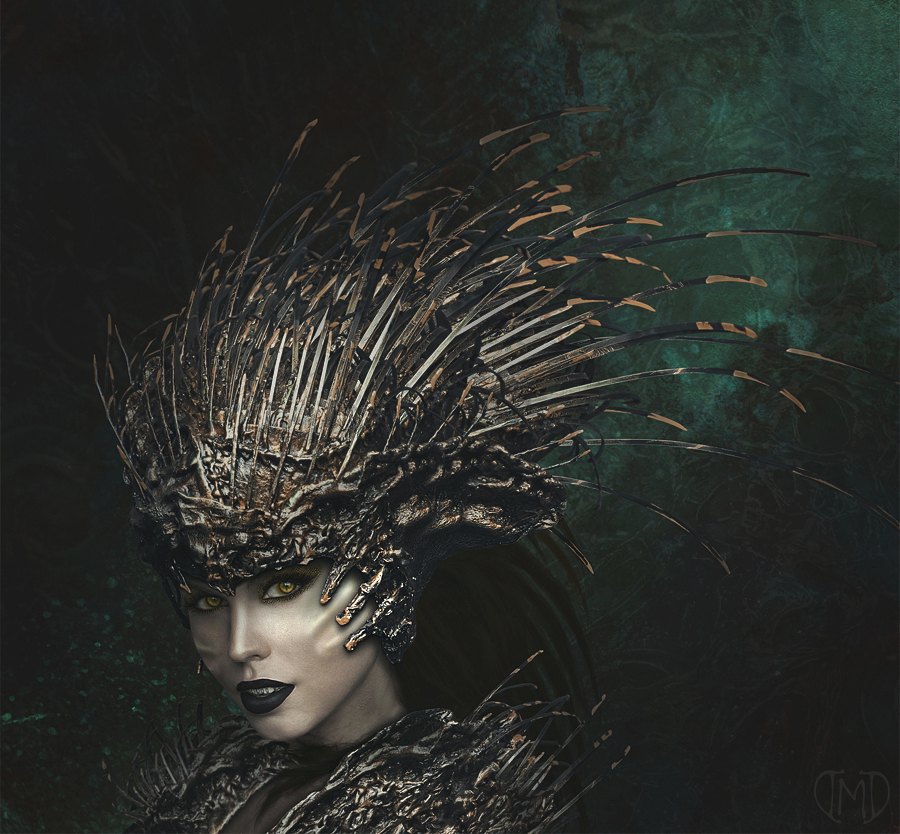 Queen of Thorns by Majentta