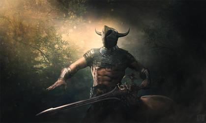 Centaur Warrior by Majentta