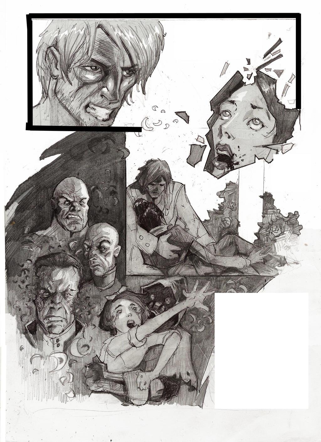 Dishonored comics by SapeginM92