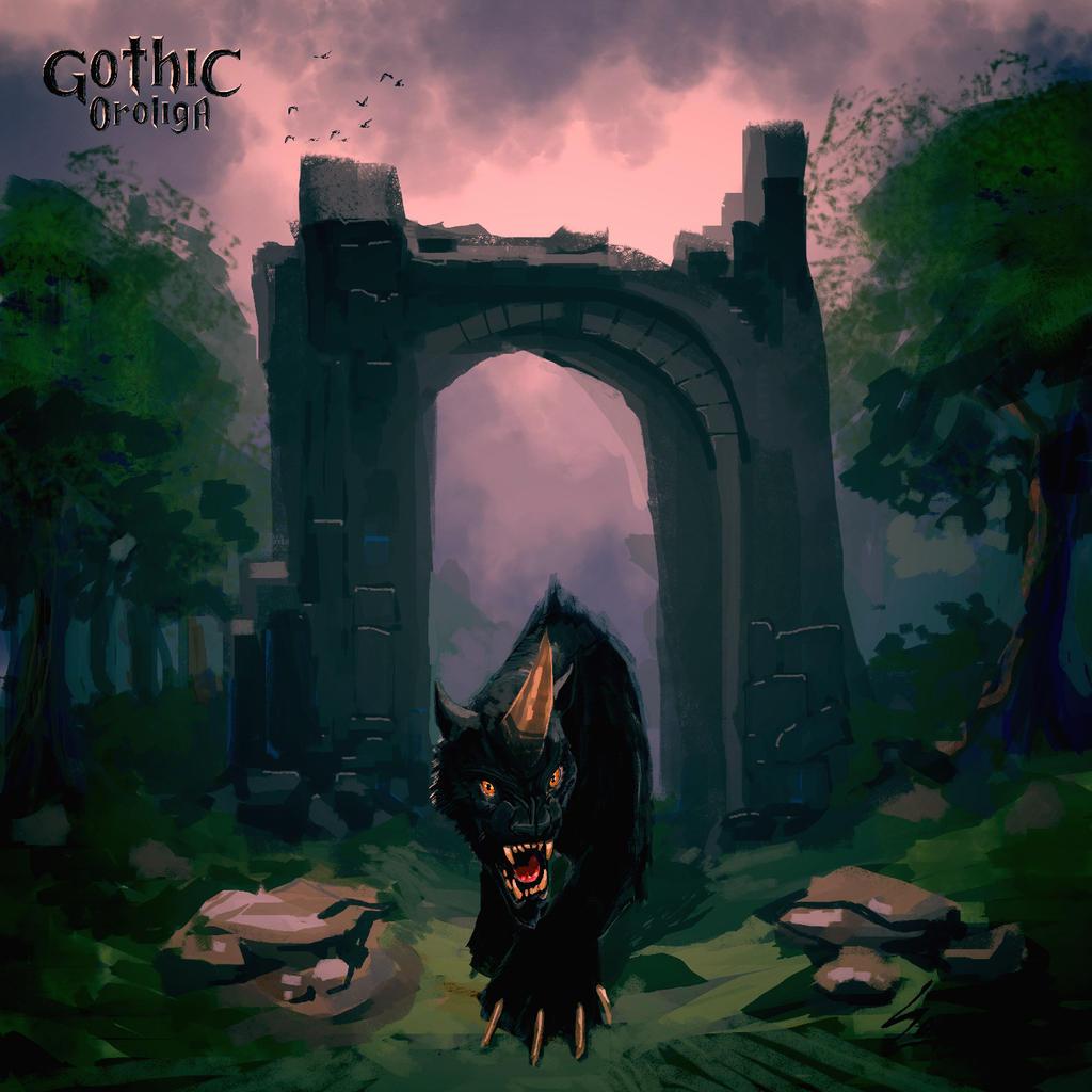 Gothic: Shadowbeast by SapeginM92