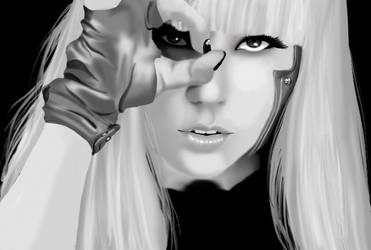 Lady Gaga by usankusai