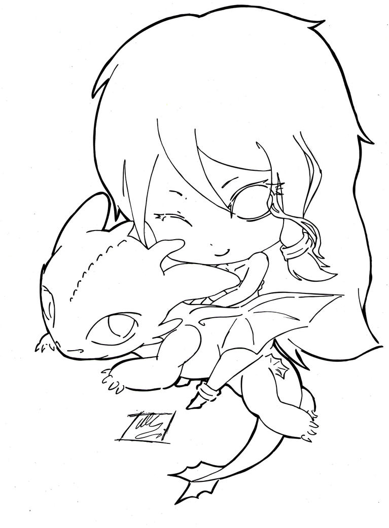 toothless coloring pages - cute coloring pages night fury dragon cute best free