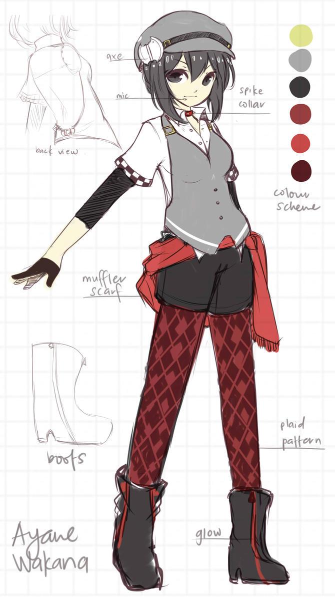 Contest: Ayane Wakana Outfit Design by niekaori