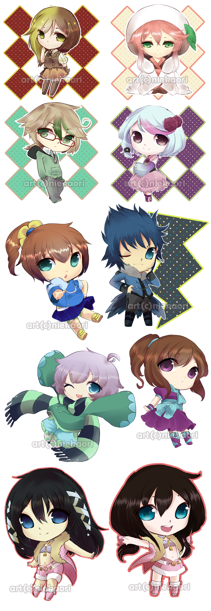 lineplay_chibi_commission_by_niekaori-d7