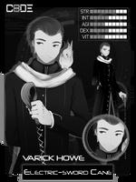 CODE-8: Varick Howe by NIEKAORI