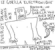 Energy Brain Comics #3: Le Gorilla Electronique by EnergyBrainComics