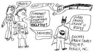 Energy Brain Comics #7: Heores, Inc. by EnergyBrainComics