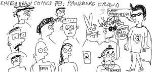 Energy Brain Comics #9: Panzburg Crowd by EnergyBrainComics