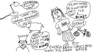 Energy Brain Comics #11: What Did Mary Have? by EnergyBrainComics