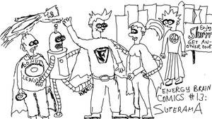 Energy Brain Comics #13: Superama