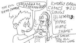EBC #22: Songs Illustrated -- Hippie Hippie Shake