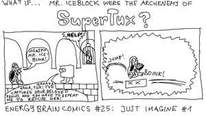 What if Mr Iceblock were the archenemy of SuperTux
