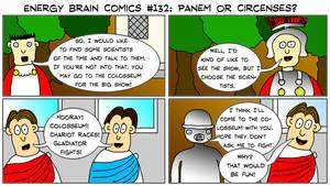 Energy Brain Comics #132: Panem Or Circenses?