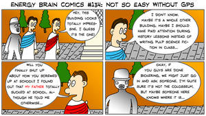 Energy Brain Comics #134: Not So Easy Without GPS