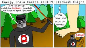 Energy Brain Comics #13[3]7: Blackest Knight