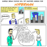 EBC #140: Yet Another Mission for Hyperman by EnergyBrainComics