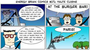 Energy Brain Comics #171: Haute Cuisine