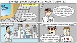 Energy Brain Comics #173: Haute Cuisine II