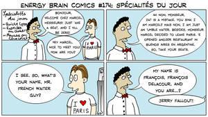 Energy Brain Comics #174: Specialites du Jour