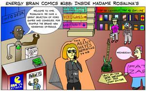 Energy Brain Comics #188: Inside Madame Rosalina's by EnergyBrainComics