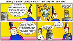 Energy Brain Comics #207: This Day We Explain!