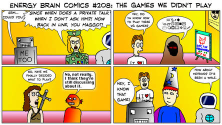 Energy Brain Comics #208: The Games We Didn't Play by EnergyBrainComics