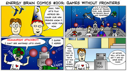 Energy Brain Comics #209: Games Without Frontiers by EnergyBrainComics