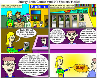 Energy Brain Comics #210: No Spoilers, Please! by EnergyBrainComics