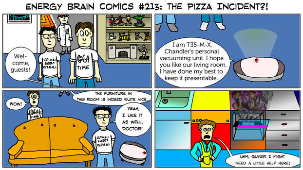 Energy Brain Comics #213: The Pizza Incident?!