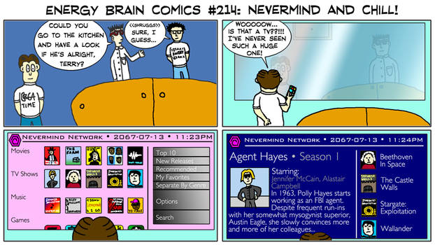 Energy Brain Comics #214: Nevermind And Chill!