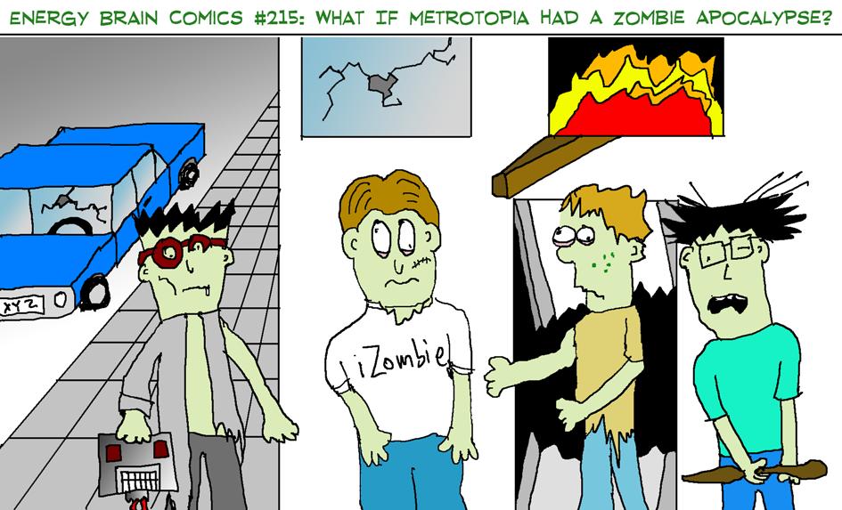 #215: What If Metrotopia Had A Zombie Apocalypse?