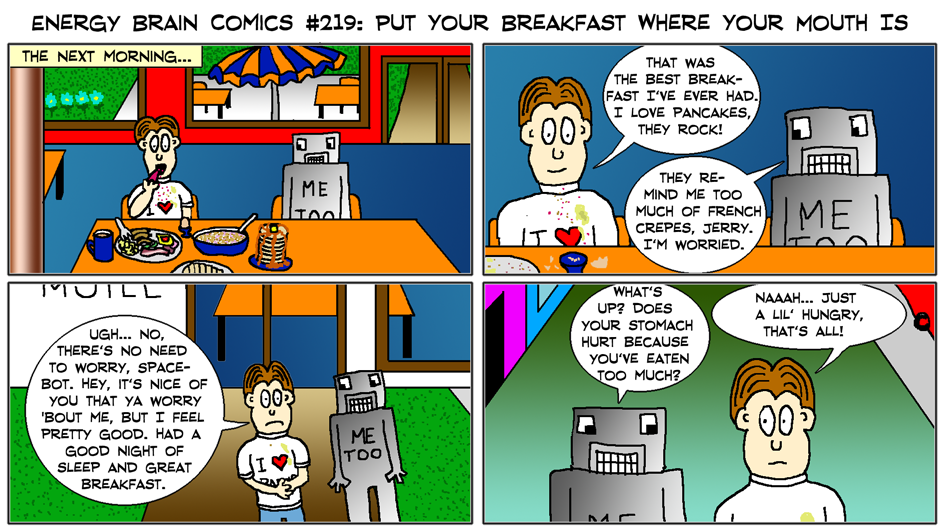 EBC #219: Put Your Breakfast Where Your Mouth Is