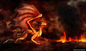 Sirius's Dragon by Kodiackk8 by ribot02