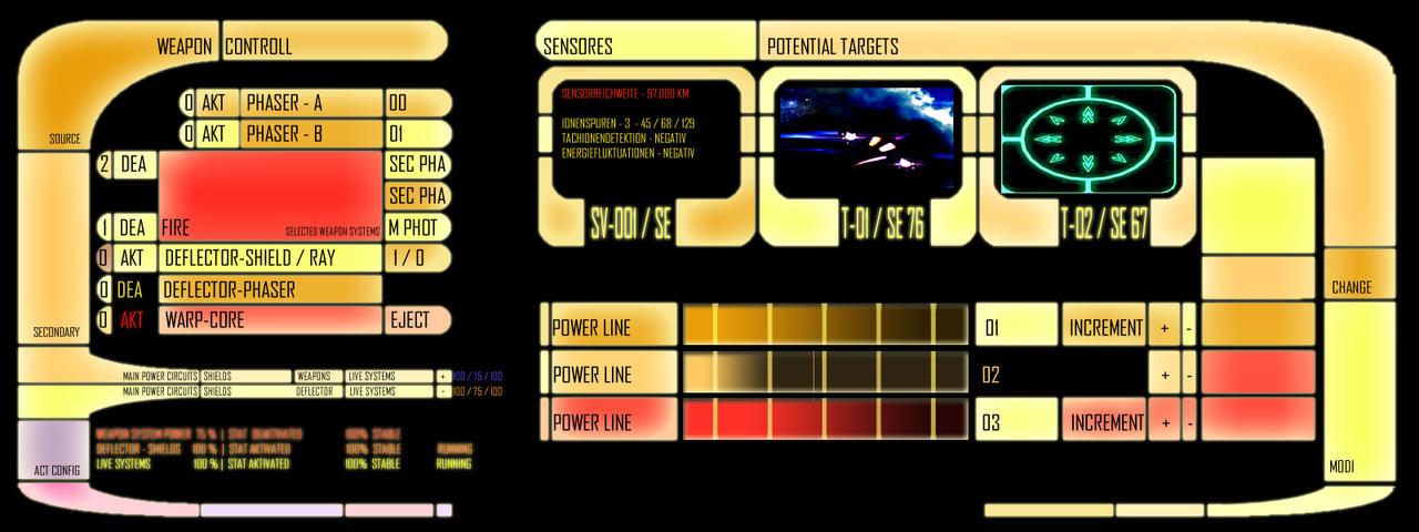 Star trek console 02 by ribot02 on deviantart - Star trek online console ...