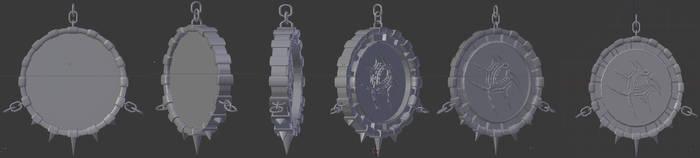 tweaked pendant