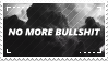 [stamp] no more bullshit by environmentalism