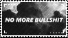 [stamp] no more bullshit by environmentalism