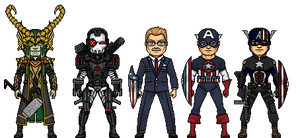 Some more of my Marvel What If characters